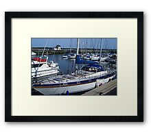 Caernarfon Harbour - North Wales Framed Print