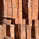 Detail of  Kolay Mirica Falls, Gawler Ranges by Blue Gum Pictures