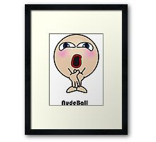 Nude Ball Framed Print