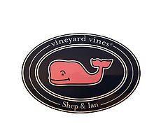vineyard Vines Shep & ian oval sticker by quinc3y