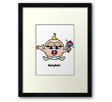 Baby Ball Framed Print