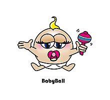 Baby Ball Photographic Print