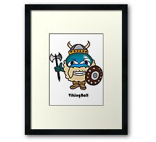 Viking Ball Framed Print