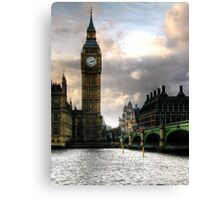 Big Ben & Westminster Bridge Canvas Print
