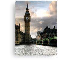 Big Ben & Westminster Bridge Canvas Print