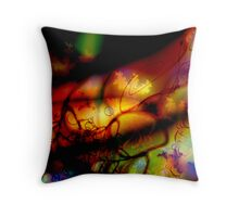 Up the Spine Throw Pillow