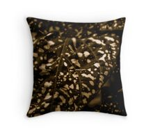 Spotted Plant Throw Pillow