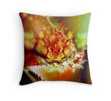 Within the Nucleus Throw Pillow