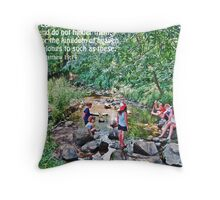 Matthew 19-14 Throw Pillow