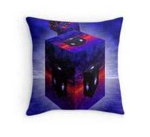 Objects May Appear Larger Throw Pillow