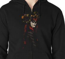 Day of the Dead Zipped Hoodie