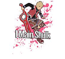 I Main Shulk - Super Smash Bros. Photographic Print
