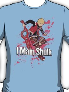 I Main Shulk - Super Smash Bros. T-Shirt