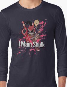 I Main Shulk - Super Smash Bros. Long Sleeve T-Shirt