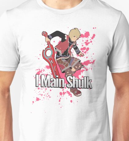 I Main Shulk - Super Smash Bros. Unisex T-Shirt