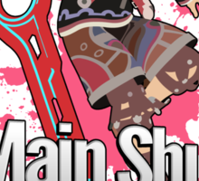 I Main Shulk - Super Smash Bros. Sticker