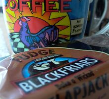Flapjack with Bright and Early Morning Coffee by Rowan  Lewgalon