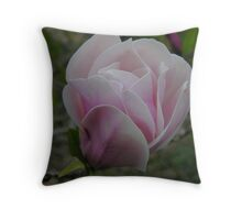 soft magnolia Throw Pillow