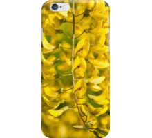 Yellow blossoms iPhone Case/Skin