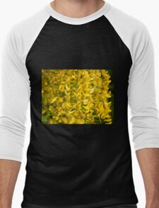 Yellow blossoms Men's Baseball ¾ T-Shirt