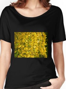 Yellow blossoms Women's Relaxed Fit T-Shirt