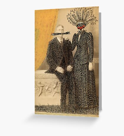 The Happy Couple Greeting Card
