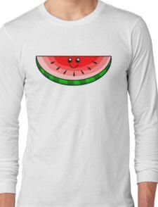 Cute Watermelon Long Sleeve T-Shirt