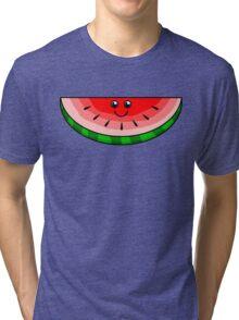 Cute Watermelon Tri-blend T-Shirt