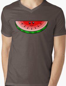 Cute Watermelon Mens V-Neck T-Shirt