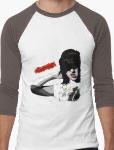 Grr? #2 Men's Baseball ¾ T-Shirt