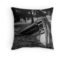 structured descent no. 1 Throw Pillow