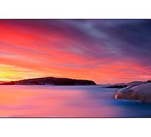 Thistle Cove Sunrise by Kirk  Hille