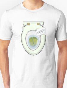 Toilet Flatmate Unisex T-Shirt