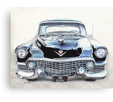 Black Cadillac Canvas Print