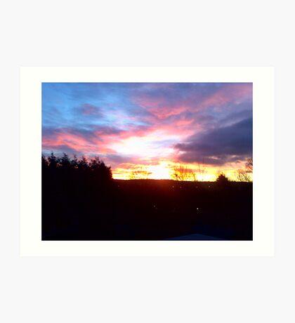 Rotherham Sunrise Art Print