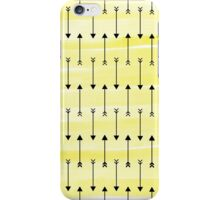 Yellow Arrows iPhone Case/Skin