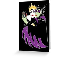 Grimhilde & Maleficent Selfie Greeting Card