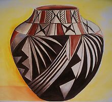 Indian pottery by schiabor