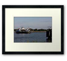 St. Johns River Ferry Framed Print