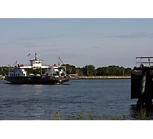 St. Johns River Ferry Photographic Print