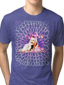 The head in daisies Tri-blend T-Shirt