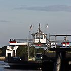 St.. Johns River Ferry by Joe Norman