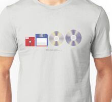 In the beginning there was the floppy disk… Unisex T-Shirt