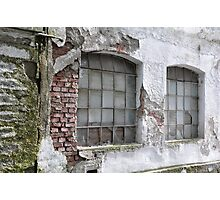 Derelict Wall Photographic Print