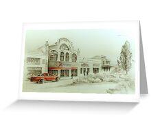 Mezzanine Cafe, Forbes, NSW Greeting Card