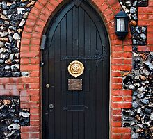 Bleak House Door by Geoff Carpenter