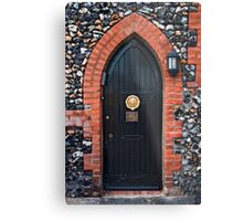 Bleak House Door Metal Print
