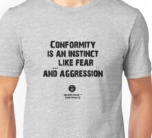 an instinct like aggression Unisex T-Shirt