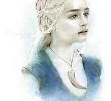Daenerys in Blue by Leslie Evans