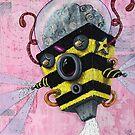 U.S.Bee ~~AmoeBot series by Chris Brett